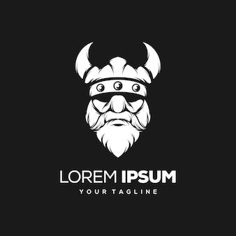 Diseño de logotipo vikingo