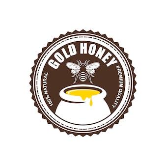 Diseño de logotipos, insignias, banners, anuncios en redes sociales y etiquetas para productos de miel.