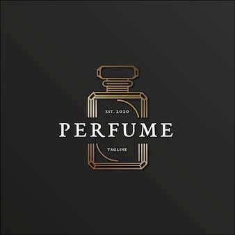 Diseño de lujo para logotipo de perfume.