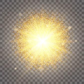 Diseño lujoso rico fondo. el efecto de la iluminación solar. lujo