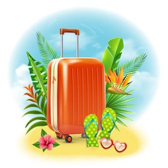 Diseño de maleta de viaje