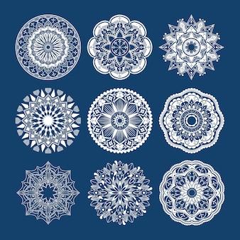 Diseño mandala indio