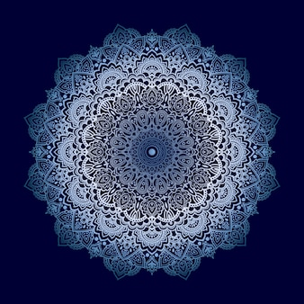 Diseño de mandala de lujo