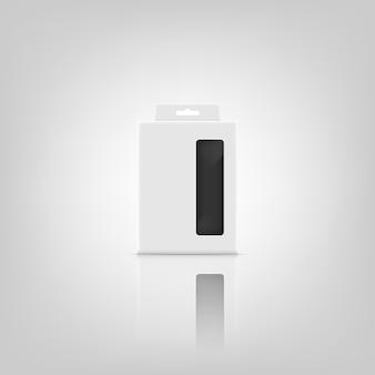 Diseño de maqueta de paquete 3d.