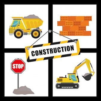 Diseño de maquinaria de construcción.