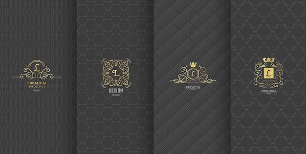 Diseño de marca de lujo para embalaje