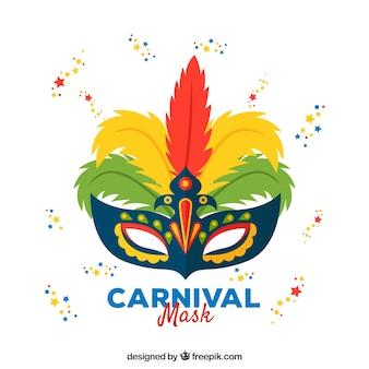 Diseño de máscara de carnaval