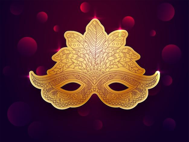 Diseño de máscara ornamental