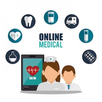 Diseño médico en línea