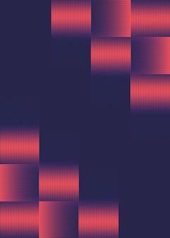 Diseño de medios tonos futurista