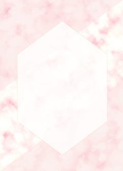 Diseño minimalista del vector de la textura de mármol