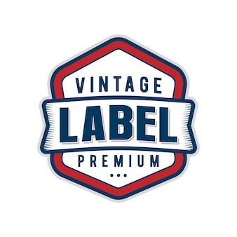 Diseño minimalista del logotipo de la etiqueta estilo vintage para productos de alimentos y bebidas, cafetería restaurante moderno clásico, diseño de identidad de marca