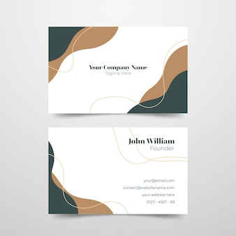 Diseño minimalista de marca de la empresa