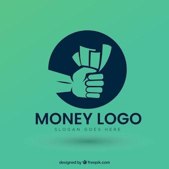 Diseño moderno de logotipo de dinero