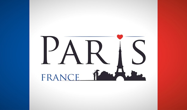 Diseño de monumentos de parís