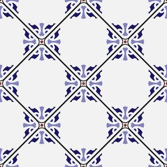 Diseño de mosaico sin costuras