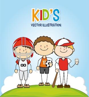 Diseño de niños