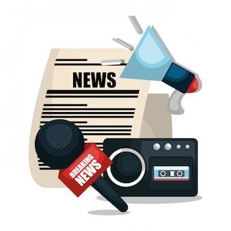 Diseño de noticias de última hora