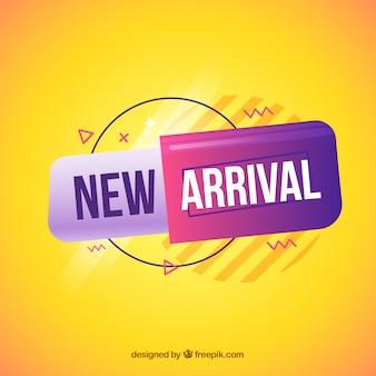 Diseño de nueva llegada