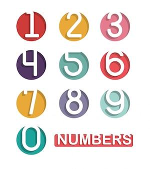Diseño de números