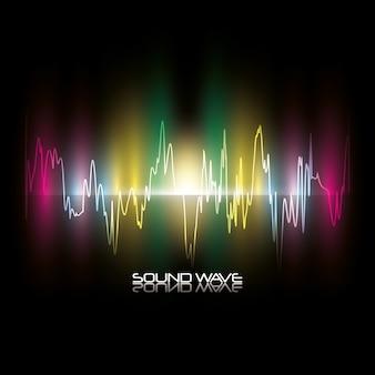 Diseño de onda de sonido