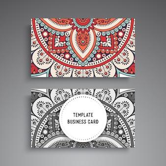 Diseño oscuro de mandala de lujo