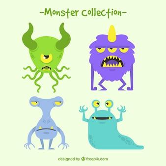 Diseño de pack de monstruos