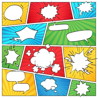 Diseño de página cómica