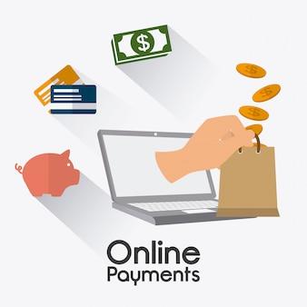 Diseño de pagos en línea.