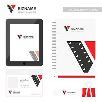 Diseño de pantalla de la aplicación de empresa