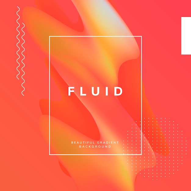 Diseño de papel tapiz degradado fluido