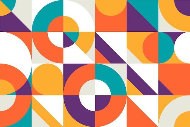 Diseño de papel tapiz minimalista geométrico