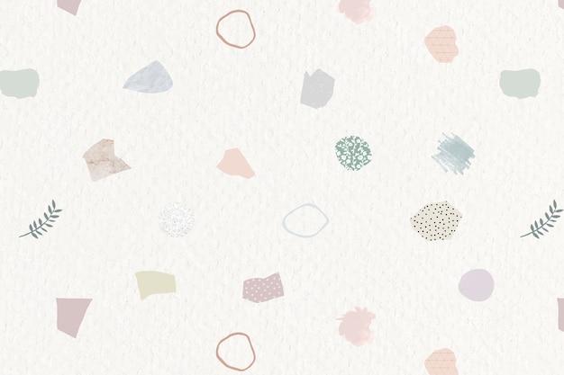 Diseño de papel tapiz transparente de nota de papel rasgado