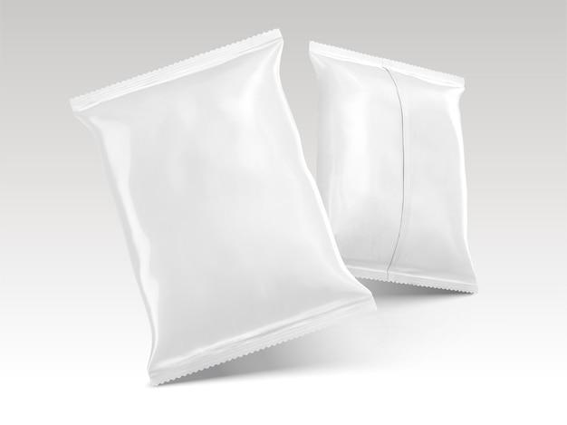 Diseño de paquetes de chips en blanco