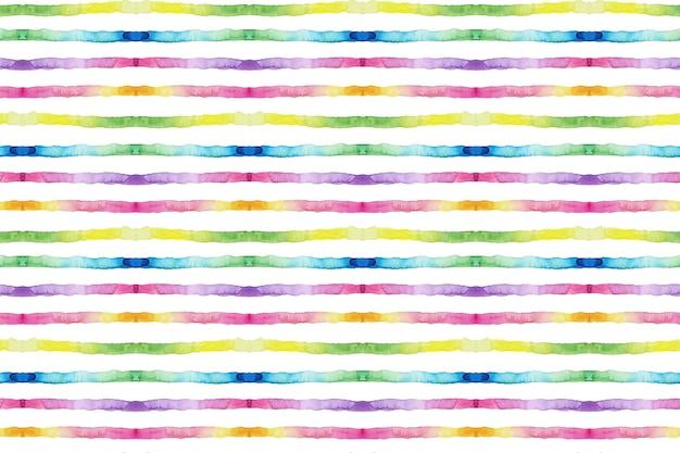 Diseño de patrón de acuarela abstracta