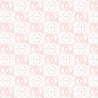 Diseño de patrón art deco de oro rosa