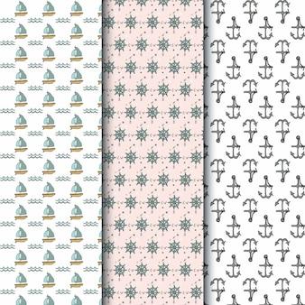Diseño de patrón de barco