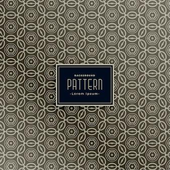 Diseño de patrón para diseño clásico de tela