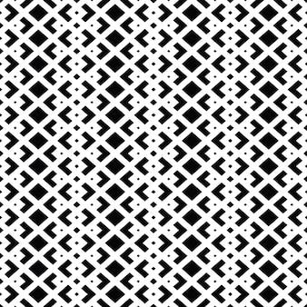 Diseño de patrón elegante en blanco y negro