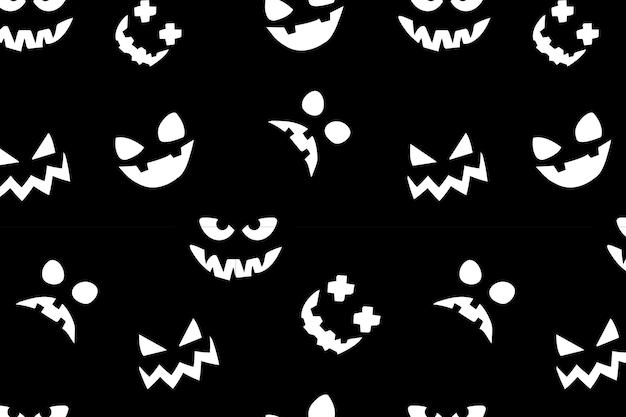 Diseño de patrón de feliz halloween