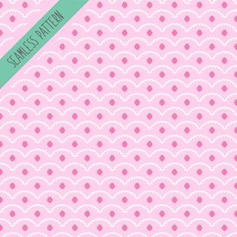 Diseño de patrón de fresa