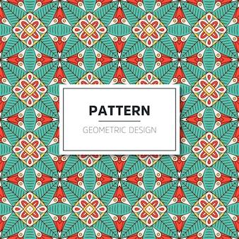 Diseño de patrón geométrico de lujo