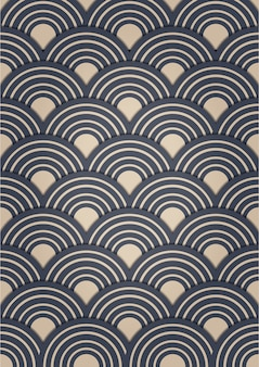 Diseño de patrón japonés