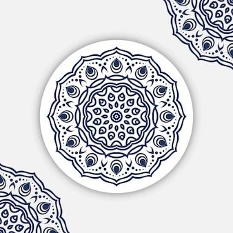 Diseño de patrón de mandala
