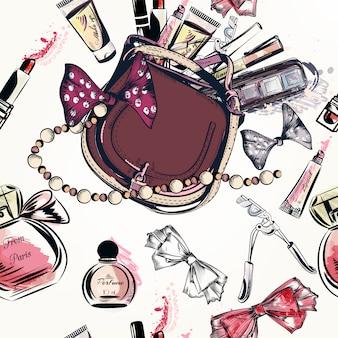 Diseño de patrón de maquillaje