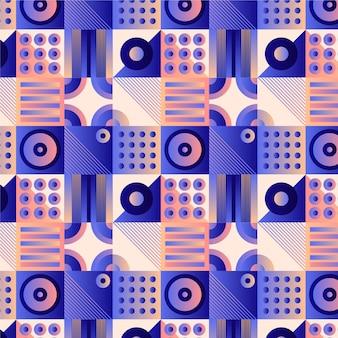 Diseño de patrón de mosaico degradado