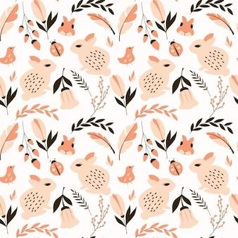 Diseño de patrón natural