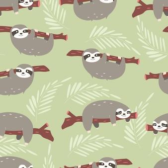 Diseño de patrón de perezosos