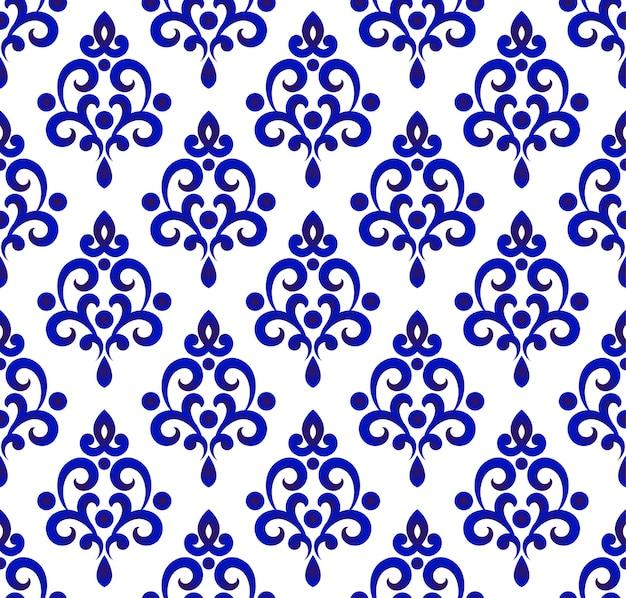 Diseño de patrón de porcelana