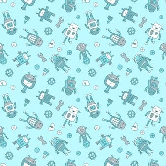 Diseño de patrón de robots